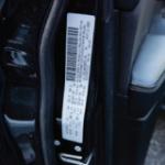Vehicle Identification Number (VIN) door tag