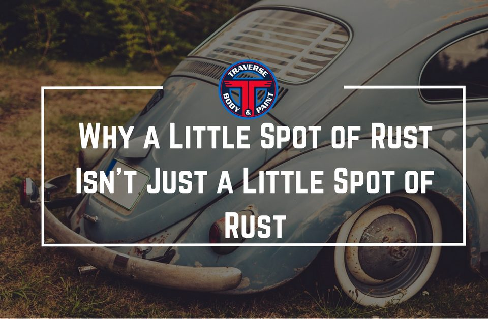 Blog Cover Photo | rusty volkswagon with blog title in white over it