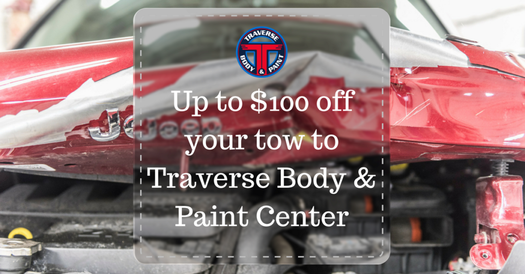 up to 100 off your tow traverse body and paint center